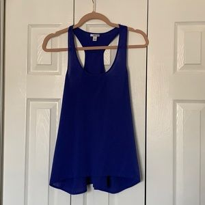 Tops - Royal blue sleeveless blouse